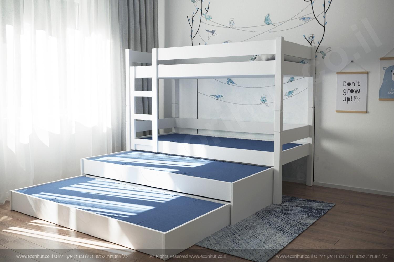 רהיטים מעץ מלא, ריהוט מעץ מלא, ריהוט מעץ, מיטות מעץ מלא, מיטת קומותיים, מיטת קומותיים מעץ מלא,