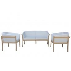 Комплект мягкой мебели из дерева бук