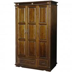 ארון 3 דלתות 2 מגירות עץ מלא מפואר דגם 232