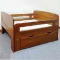 מיטת ילדים מתכווננת עץ מלא דגם 710