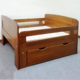 מיטת ילדים מעץ מלא מתכווננת דגם 710