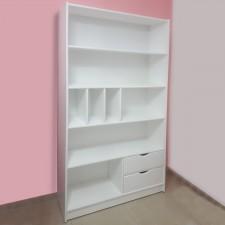 ספריה מעץ מלא