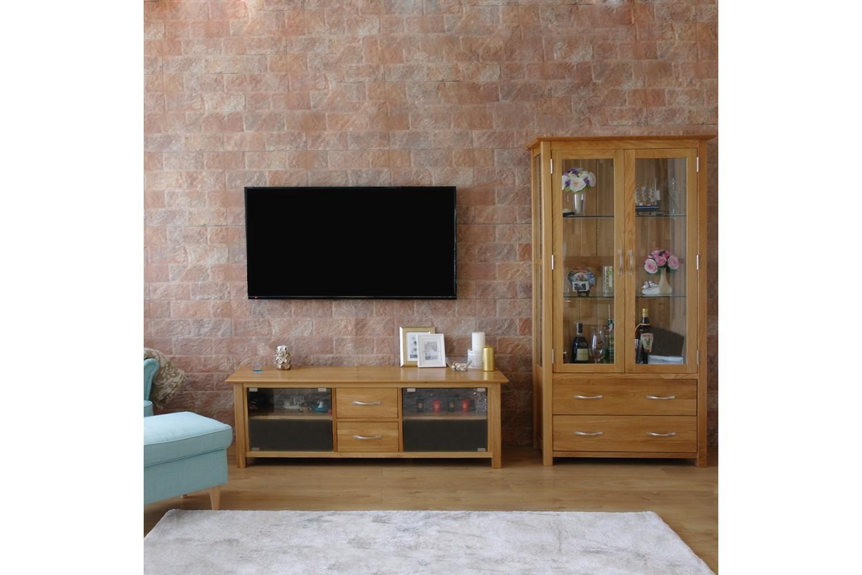 רהיטים מעץ מלא, ריהוט מעץ מלא, ויטרינה מעץ מלא,