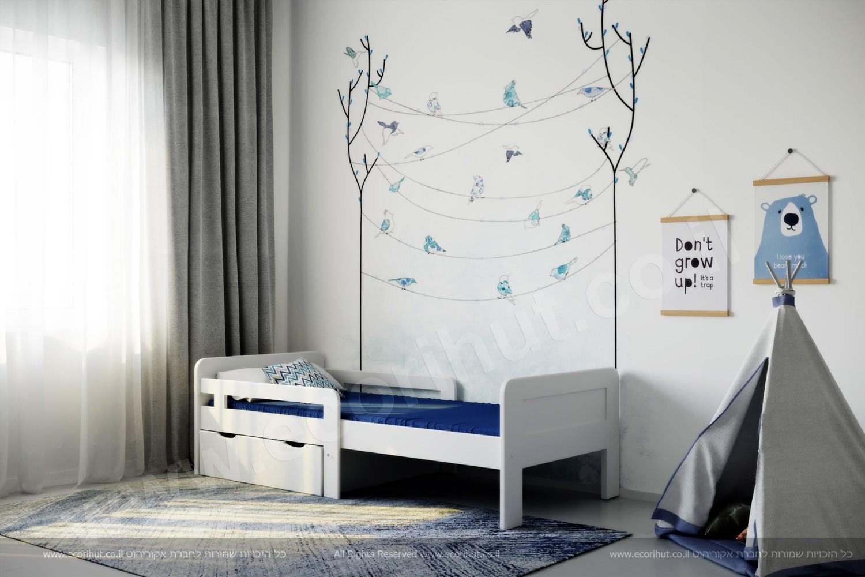 мебель в израиле, мебель из дерева, детская кровать, רהיטים מעץ מלא, ריהוט מעץ מלא, ריהוט מעץ, מיטות מעץ מלא, מיטת מעבר, מיטה התכווננת,