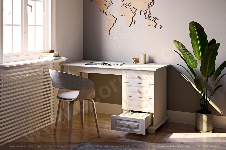 רהיטים מעץ מלא, ריהוט מעץ מלא, ריהוט מעץ, שולחן כתיבה, שולחן מחשב מעץ,