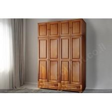Шкаф 4 двери 2 ящика модель 442L