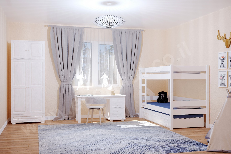רהיטים מעץ מלא, ריהוט מעץ מלא, מיטות מעץ מלא, ריהוט ילדים מעץ מלא, עץ מלא, חדר ילדים, חדר ילדים מעץ מלא,