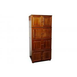 Шкаф 8 дверей из дерева