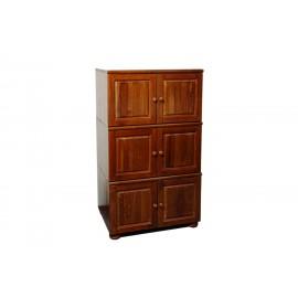 Шкаф 6 дверей из дерева