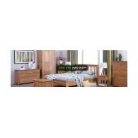 Спальня с полным деревом Спальня из массива дерева